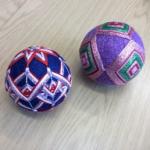 Temari Balls - so pretty but so difficult!